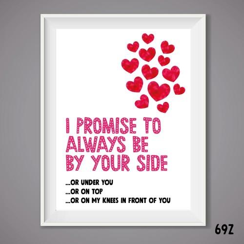 My Promise Print