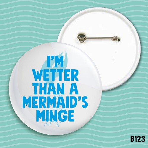 Mermaid's Minge Badge