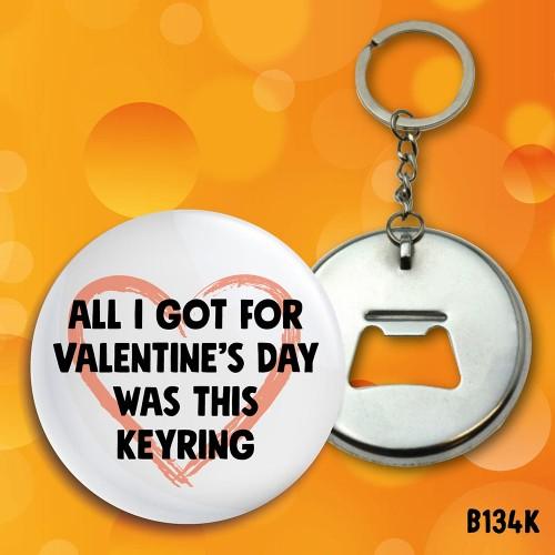 Valentine's Day Keyring