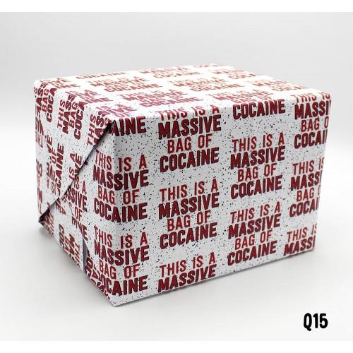 Bag of the White Stuff Wrap