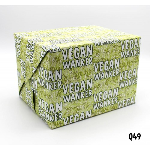 Vegan Wanker Wrap