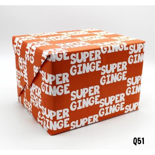 Super Ginge Wrap