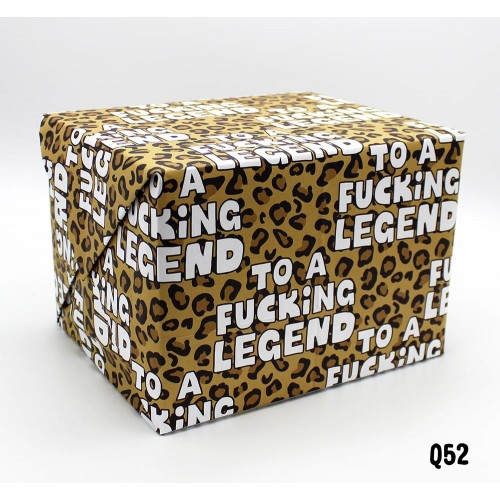 Fucking Legend Wrap