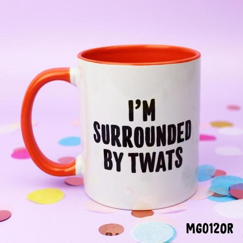 Surrounded Twats Mug