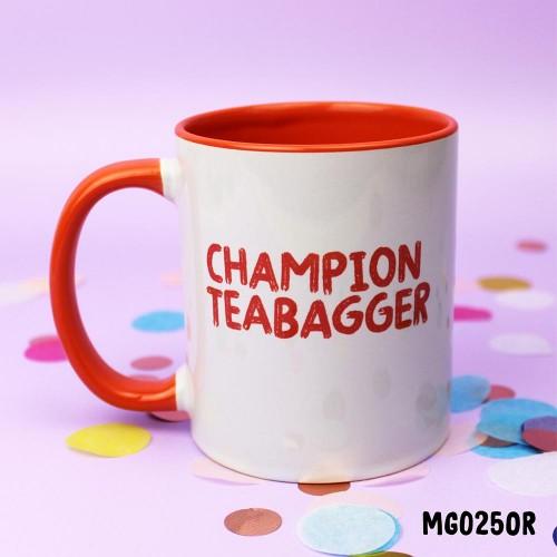 Champion Teabagger Mug
