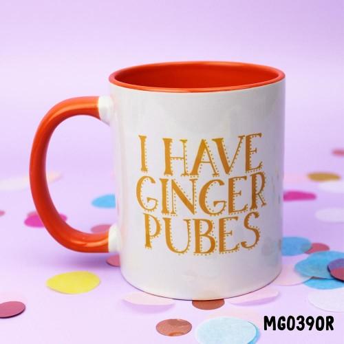 Ginger Pubes Mug