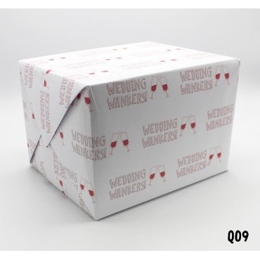 Wedding Wankers Wrapping Paper