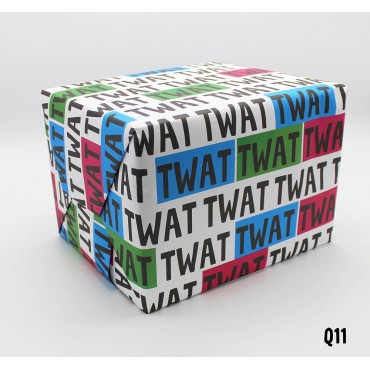 Twat Wrapping Paper