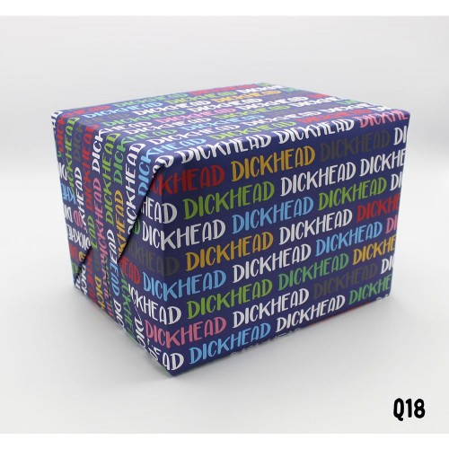 Dickhead Wrapping Paper