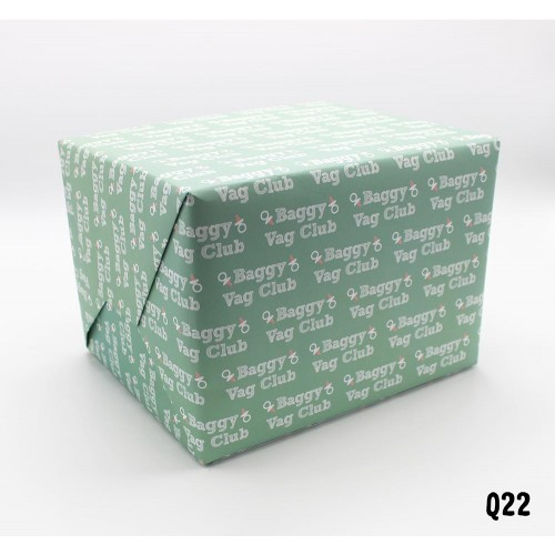 Baggy Vag Club Wrapping Paper