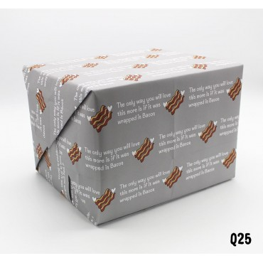 Wrapped in Bacon Wrapping Paper