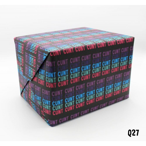 Cunt Wrapping Paper