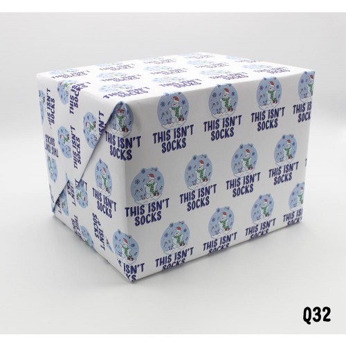 Socks Wrapping Paper