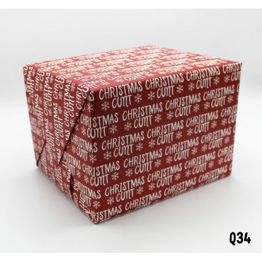 Christmas Cunt Wrapping Paper
