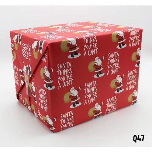 Santa Cunt Wrap