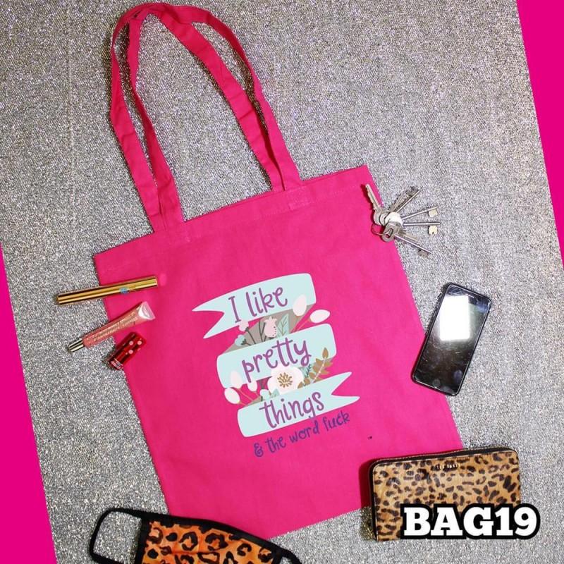 Pretty Things Tote Bag