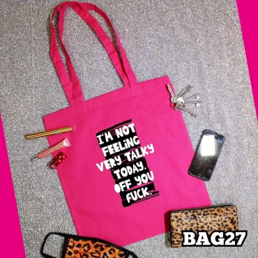 Talky Today Tote Bag