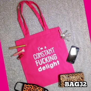 Constant Delight Tote Bag