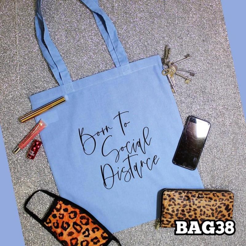 Born To Tote Bag