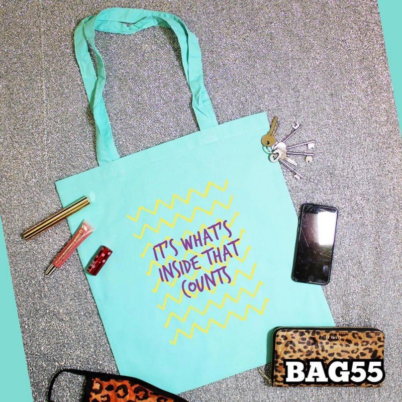 What's Inside Tote Bag