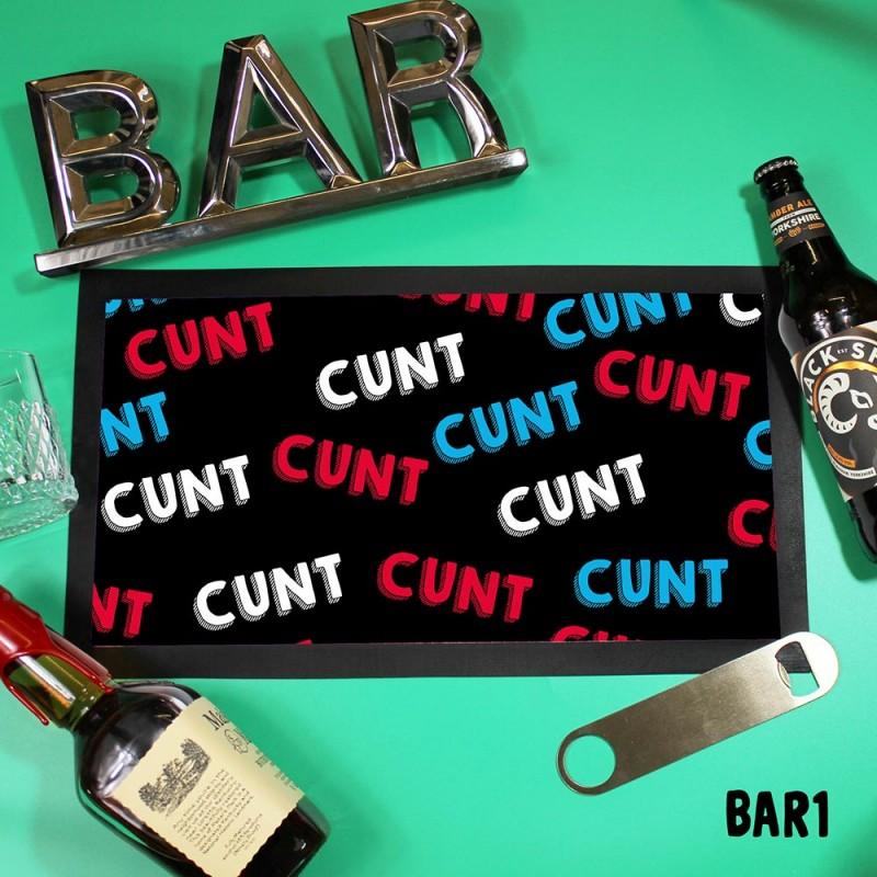 Cunt Beer Mat