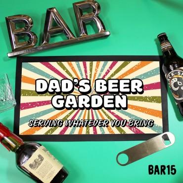 Dad's Beer Garden Mat