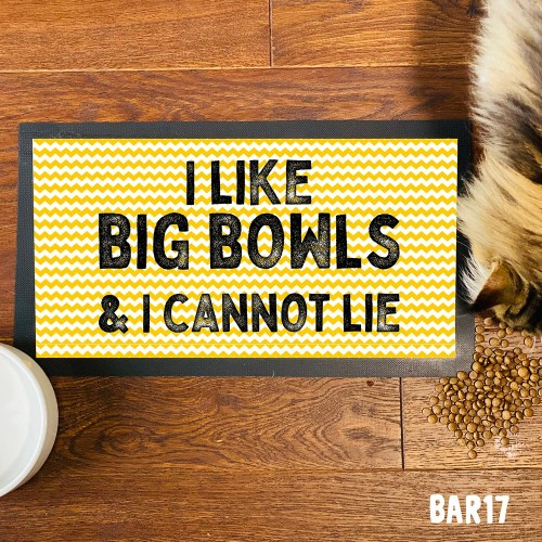 Big Bowls Pet Mat
