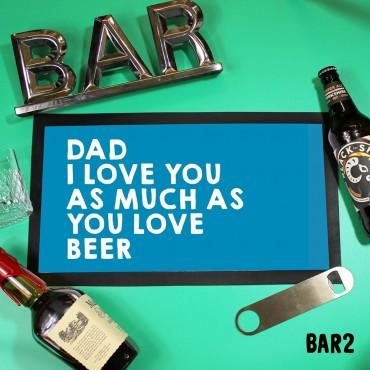 Love Beer Mat