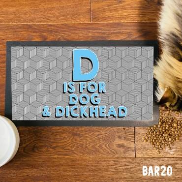 D Dog Pet Mat