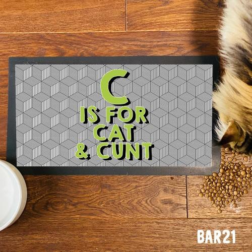 C Cat Pet Mat