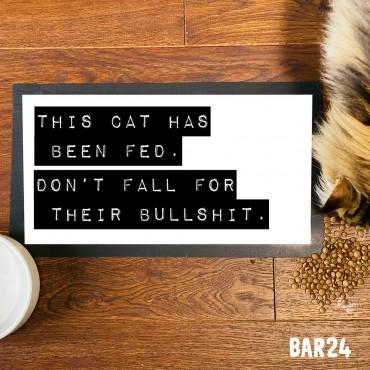 Cat Bullshit Pet Mat