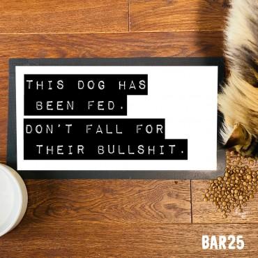 Dog Bullshit Pet Mat
