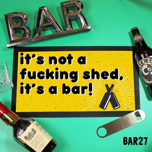 Shed Bar Mat