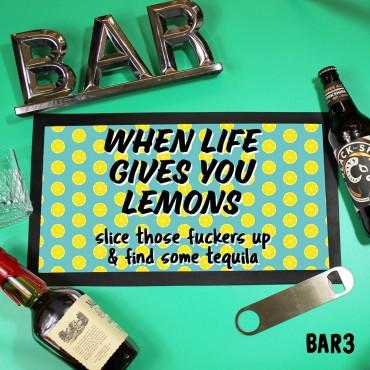 Life Lemons Mat