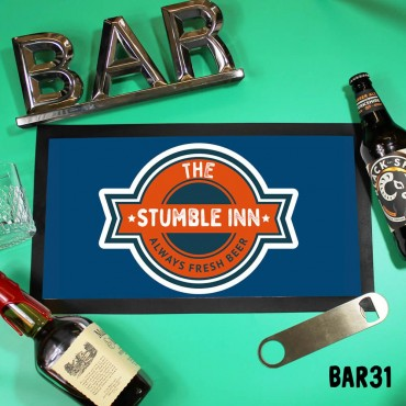 Stumble Inn Bar Mat