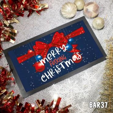Merry Fucking Xmas Table Mat