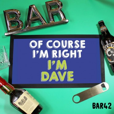 Dave Bar Mat