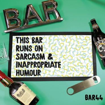 Runs On Bar Mat
