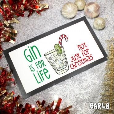 Gin Xmas Table Mat