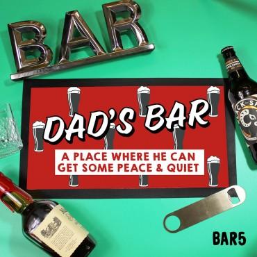 Dad's Bar Mat