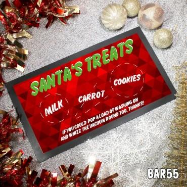 Santa's Treats Table Mat