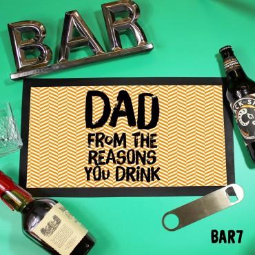 Reasons Drink Mat