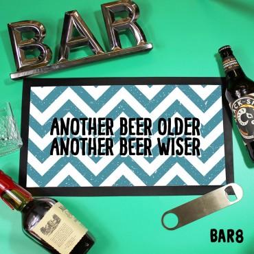Beer Wiser Mat
