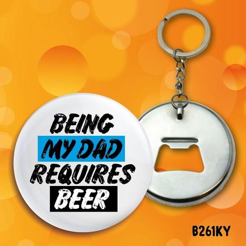 Requires Beer Bottle Opener