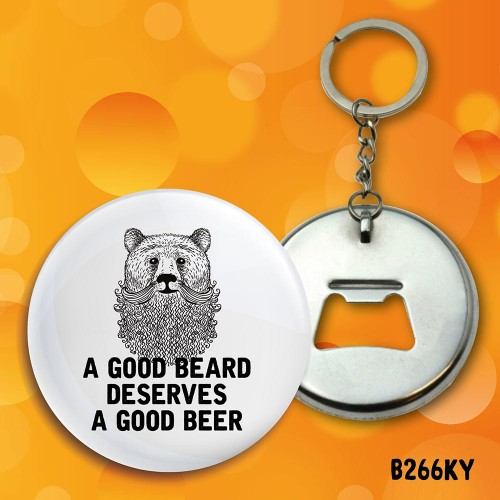 Good Beard Bottle Opener