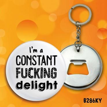 Constant Delight Keyring