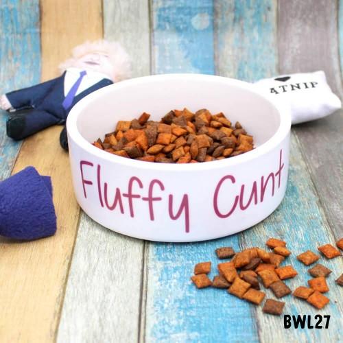 Fluffy Cunt Pet Bowl