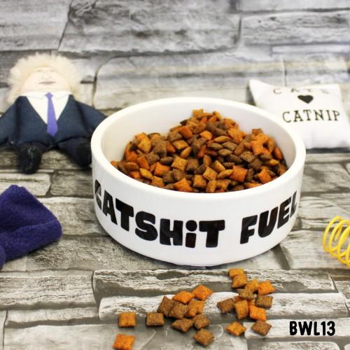 Catshit Fuel Pet Bowl