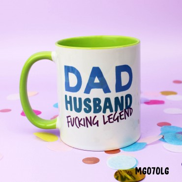 Dad Husband Legend Mug