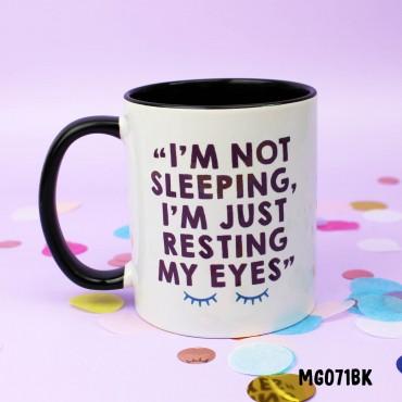 Resting Eyes Mug